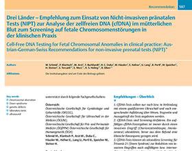 Praenatal plus Akademie – NIPT Empfehlung der Ultraschallgesellschaften (de)